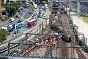 Train derail in Hong Kong left 8 injured