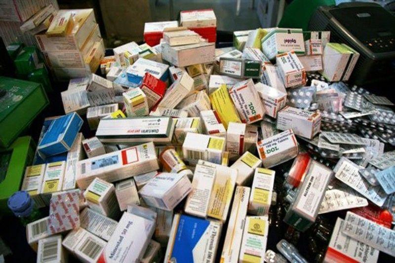 انبار میلیاردی غیرمجاز دارو در درچه کشف شد