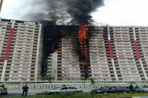 ️ بزرگترین برج گیلان طعمه حریق شد / آتش سوزی در حال مهار است