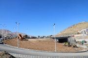 آغاز عملیات احداث فضای سبز در تقاطع غیر همسطح توحید