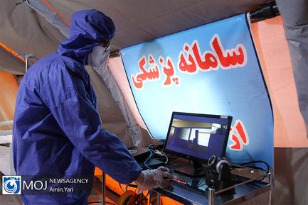 افتتاح مجتمع بیمارستانی و نقاهتگاه شهید هجرتی
