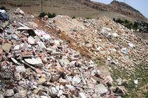 دفن روزانه ۷ هزار تن نخاله ساختمانی در اصفهان