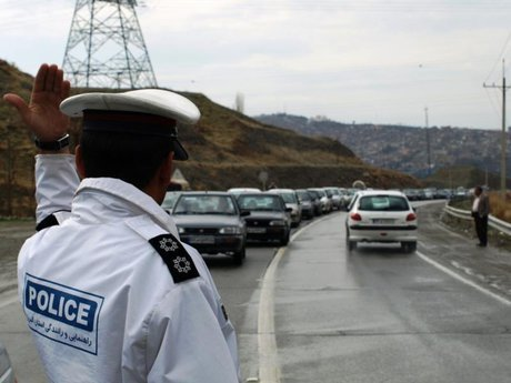 تشدید فعالیت گشت های پلیس در جاده های درون و برون شهری