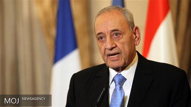 انتقاد نبیه بری نسبت به تحریم نهادهای مالی لبنان