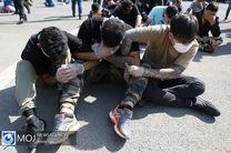 دستگیری 13 خرده فروش حرفه ای مواد مخدر در شاهین شهر