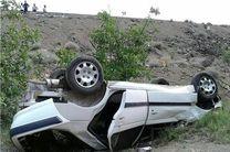 واژگونی خودرو حادثه آفرید