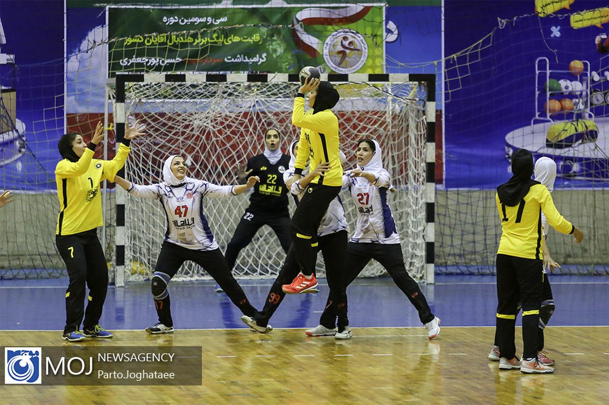 دعوت یک بانوی اصفهانی به اردوی تیم ملی هندبال