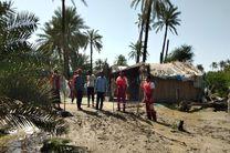 تخریب جادههای روستایی و آبگرفتگی مزارع در پی بروز سیل در بندزک