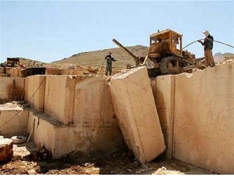 بهره برداری از واحد سنگبری و فرآوری سنگ در شهرک صنعتی سنگ خرمبید