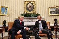 طعنه دوباره ترامپ به اوباما در توئیتر