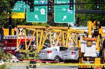 4 کشته در اثر سقوط جرثقیل بر روی اتومبیل ها در سیاتل آمریکا