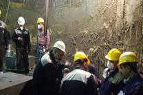 بازدید مدیرعامل شرکت ذوب آهن اصفهان از روند بازسازی کوره بلند شماره یک