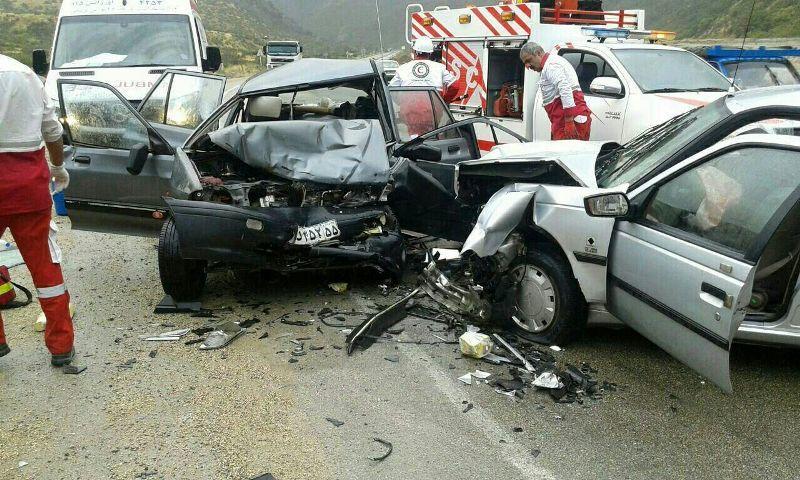 کاهش تعداد تصادفات، افزایش تلفات ناشی از آن