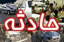 دو کشته و دو مصدوم براثر برخورد پژو با گاردریل در آزاد راه کاشان – اصفهان