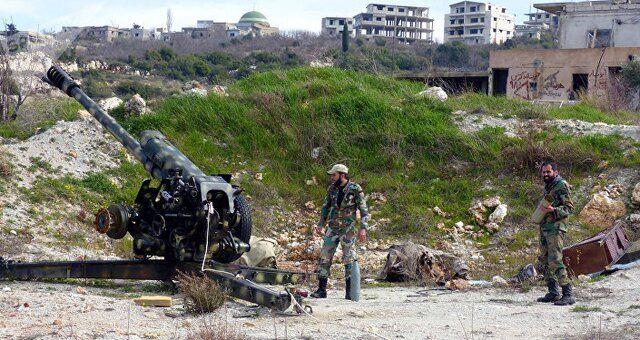 تسلط ارتش سوریه بر جاده بینالمللی حلب به دمشق