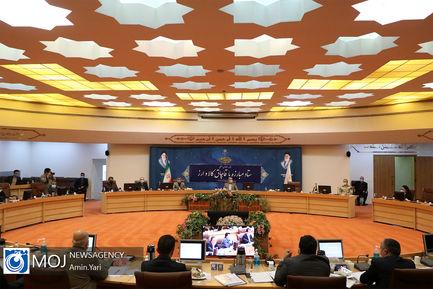 جلسه ستاد مبارزه با قاچاق کالا و ارز - ۲۰ آبان ۱۳۹۹