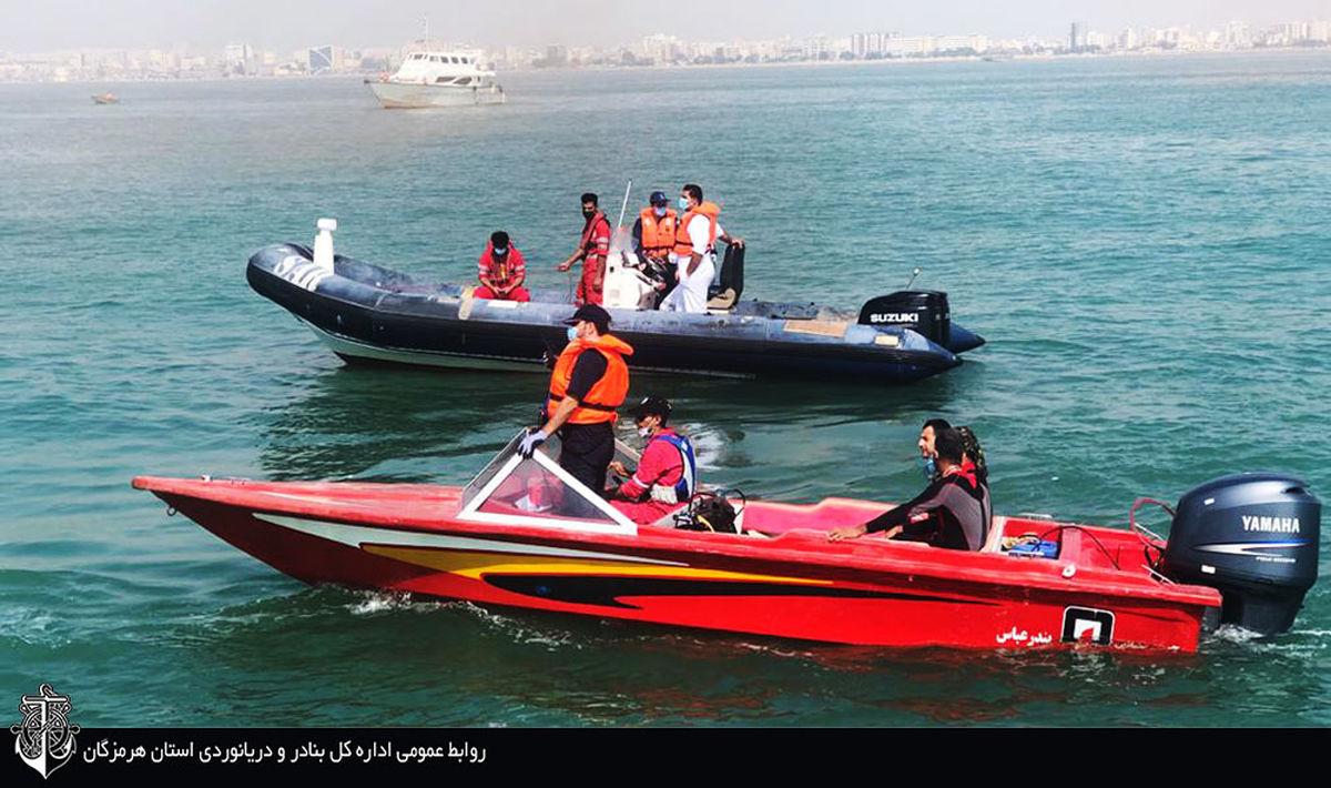 قایق مفقود شده در شرق جزیره لارک  پیدا شد