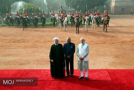 سومین روز سفر رییس جمهوری به هند