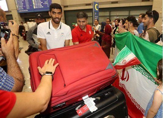تیم ملی فوتبال ایران وارد کره جنوبی شد