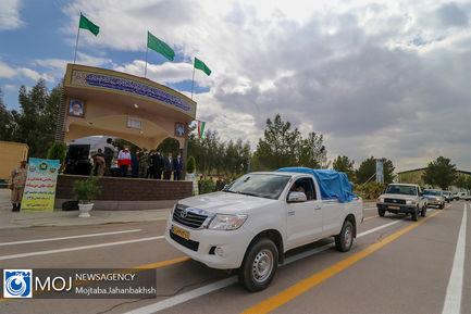 رزمایش همدلی و کمک های مومنانه ارتش منطقه اصفهان