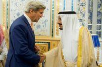 کری و ملک سلمان درباره سوریه، یمن و لیبی رایزنی کردند