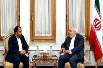 سخنگوی جنبش انصارالله یمن با ظریف دیدار کرد