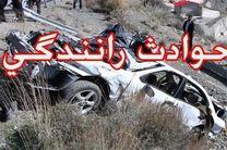 مصدومیت 5 نفر در اثر برخورد دو خودرو