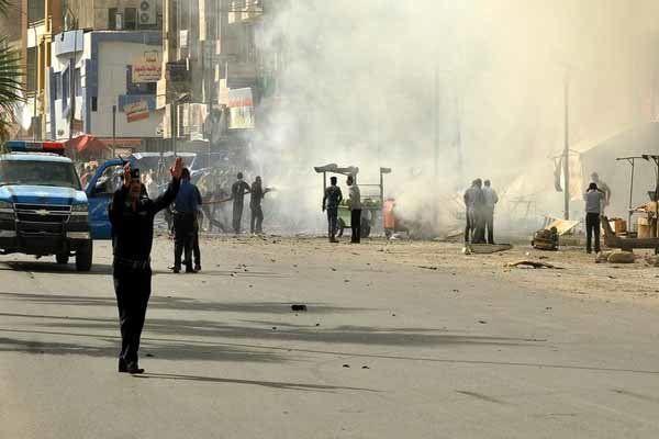 جلوگیری از خروج غیرنظامیان از غوطه شرقی دمشق