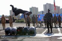 صبحگاه مشترک یگان های نمونه ارتش جمهوری اسلامی ایران