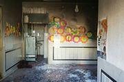آتش سوزی در یک مدرسه تهران
