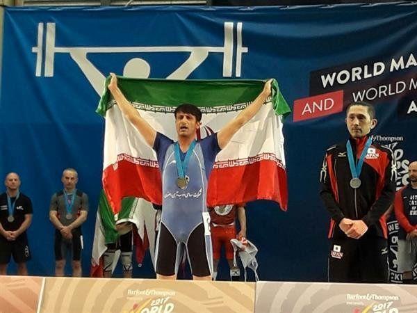 پنجمین مدال کاروان وزنهبرداری در المپیک پیشکسوتان