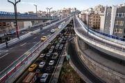 اعمال محدودیتهای ترافیکی در تهران درپی بارش باران