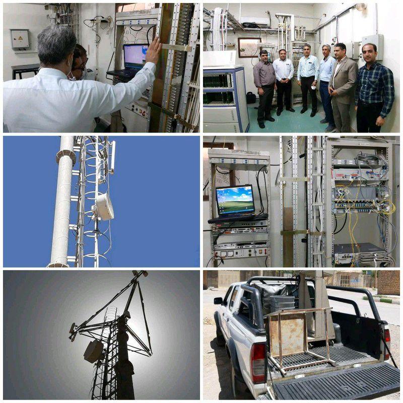 مانور گروه رادیو مخابرات منطقه اصفهان برگزار شد