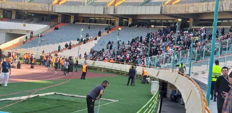 حواشی بازی تیم ملی فوتبال ایران و کامبوج در ورزشگاه آزادی