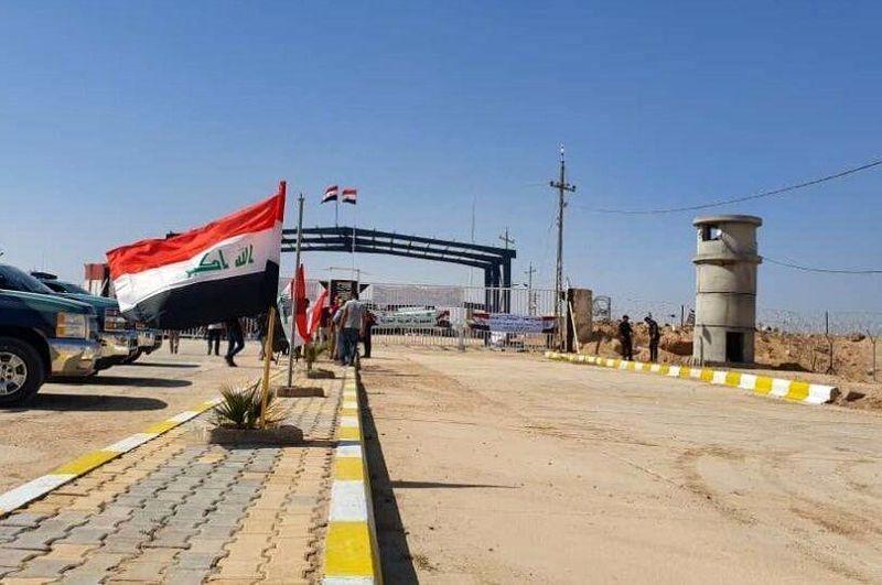 گذرگاه مرزی زرباطیه واقع در مرز عراق با ایران بازگشایی شد