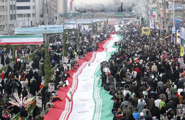 مسیرهای راهپیمایی ۲۲ بهمن در کرمانشاه از ساعت 8 صبح محدود میشوند