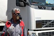 رصد وضعیت بهداشتی رانندگان انبار نفت هرمزگان