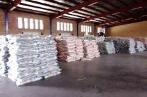 ۸۰ تن برنج قاچاق در امیدیه کشف شد