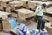 دپو 22 میلیاردی کالای قاچاق در بندرخمیر