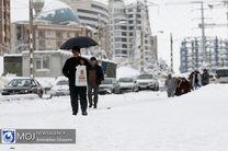 نمک و محلول پاشی معابر شهر تهران در دستور کار است