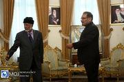 دیدار وزیر امور خارجه عمان با دبیر شورای عالی امنیت ملی ایران