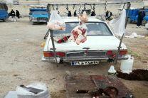 جمعآوری بیش از ۷۰۰ کیلوگرم گوشت کشتار غیرمجاز در کرمانشاه