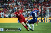 برتری چلسی مقابل لیورپول در نیمه نخست