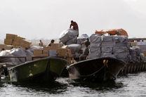 توقیف قایق حامل کالای قاچاق در بندرعباس