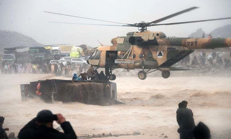 افزایش تعداد جان باختگان سیل در جنوب افغانستان