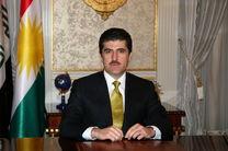 تسلیت سر کنسول ایران به نخست وزیر کردستان عراق