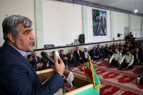 آیین افتتاح طرح برق رسانی به روستای جواهردشت