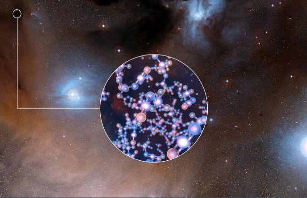 کشف مولکولهای پروبیوتیک در اطراف ستاره مشابه خورشید