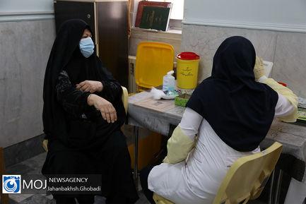 افتتاح مرکز تجمیعی واکسیناسیون کرونا در قم