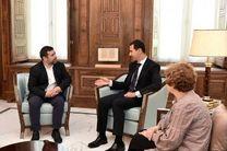 اسد: تحولات سوریه بر اروپا تاثیر چشمگیری دارد